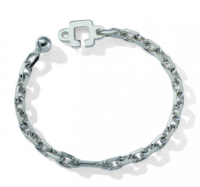 Chapcle chaine porte clef argent porte clefs bouton de for Chaine detendue porte de garage
