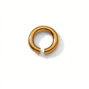 PLAQUE OR AB ROND 3-5MM