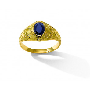 18K BAGUE CHEVALIERE UNIVERSITE PM